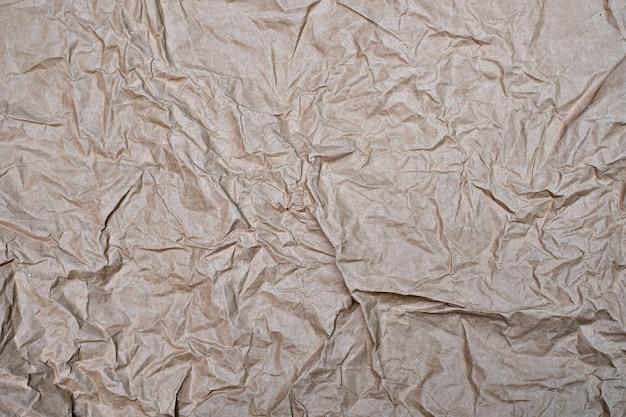 Bouchent le vieux fond de texture de papier froissé froissé pour la conception