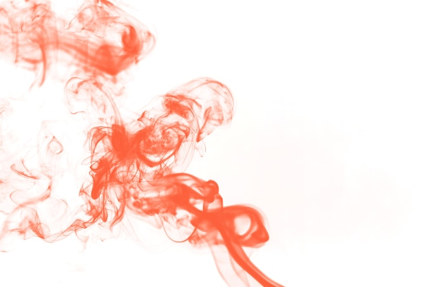 Bouclier de fumée orange vif