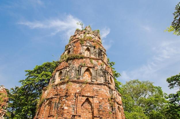 Bouddha à ayutthaya, thaïlande.