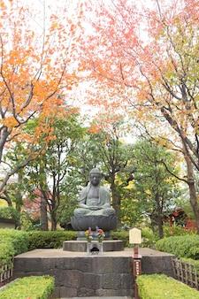 Bouddha dans le parc