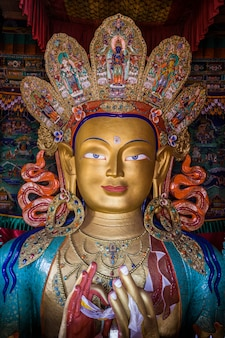 Le bouddha maitreya
