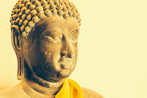 Bouddha visage