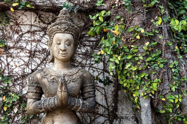 Bouddhisme pour statues ou modèles du portrait de bouddha