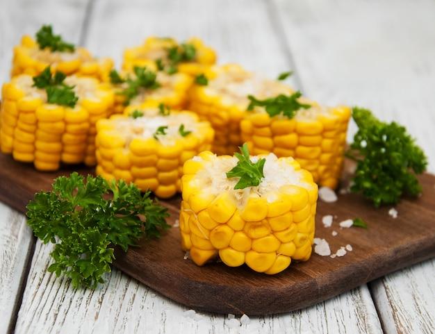 Bouillie d'épi de maïs