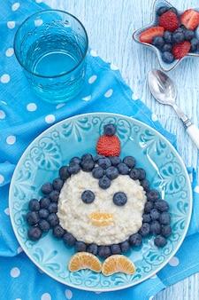 Bouillie de petit déjeuner pour enfants