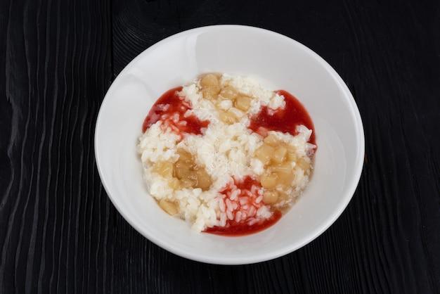 Bouillie de riz au lait
