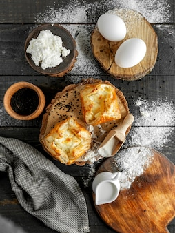 Boulangerie aux oeufs