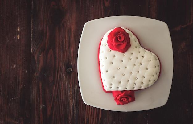 Boulangerie cake heart