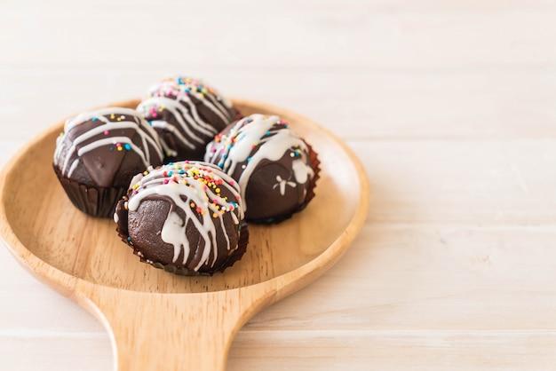 Boule de chocolat fantaisie