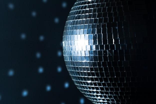 Une boule disco miroir