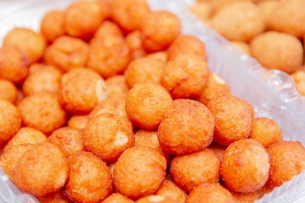 Boule de fromage, salé très commun dans les fêtes à rio de janeiro au brésil.