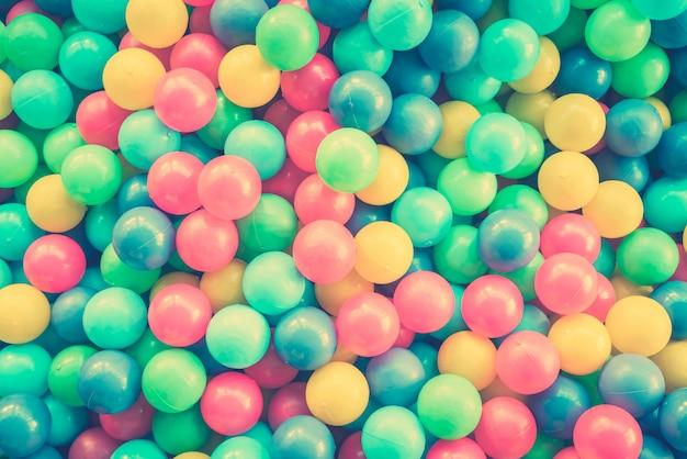 Boules colorées