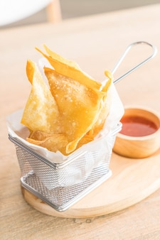 Boulettes frites croustillantes