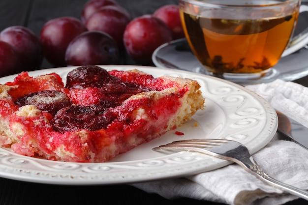 Boulettes de prune sucrées