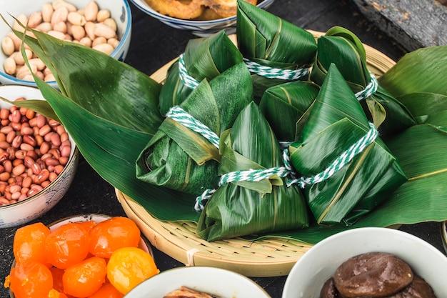 Boulettes de riz du festival des bateaux-dragons