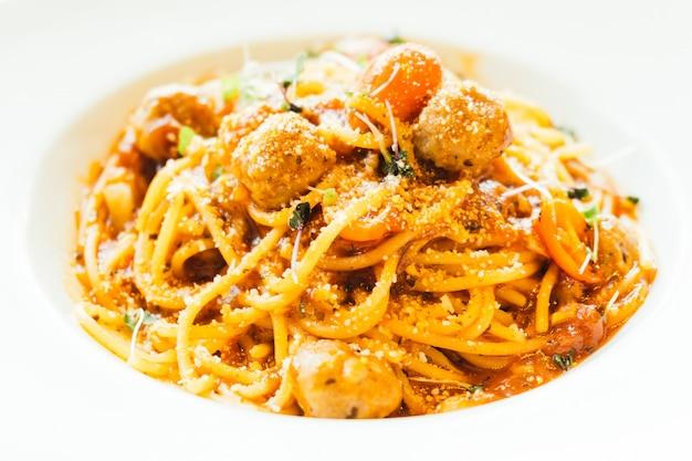Boulettes de spaghetti