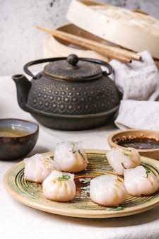 Boulettes de vapeur asiatiques