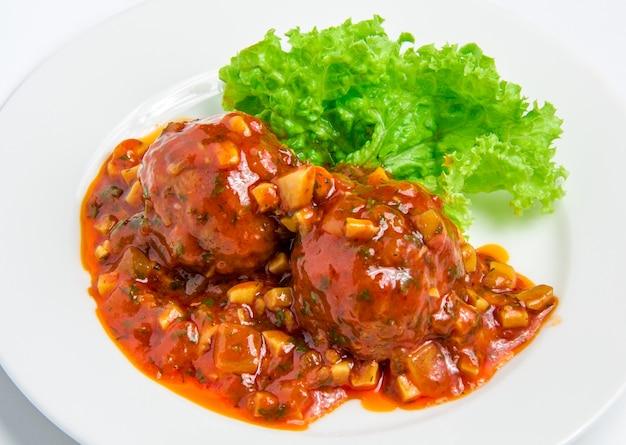 Boulettes de viande de veau