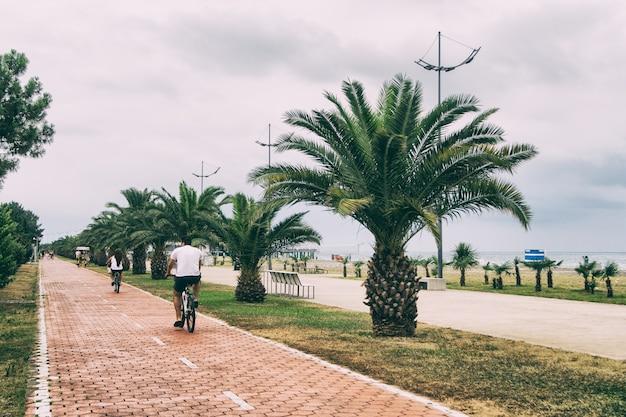 Boulevard et motards