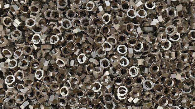 Boulons métalliques et écrous de vis