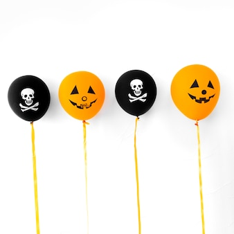 Bouquet de ballons d'halloween