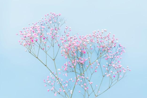 Bouquet de brindilles florales rose tendre