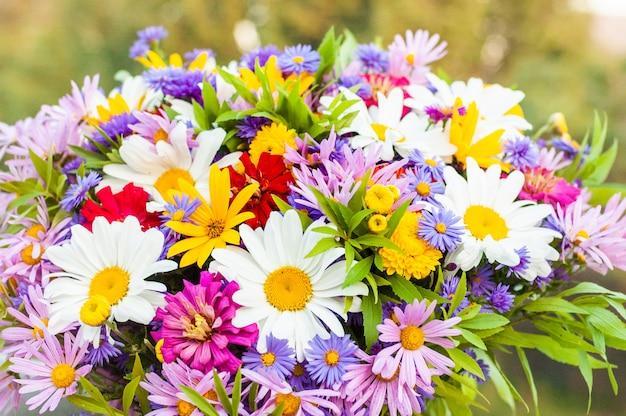 Bouquet de camomille et autres fleurs