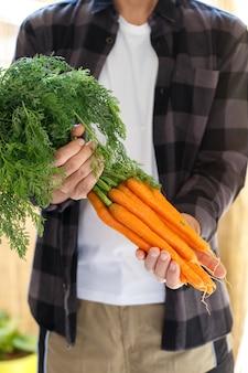 Bouquet de carottes