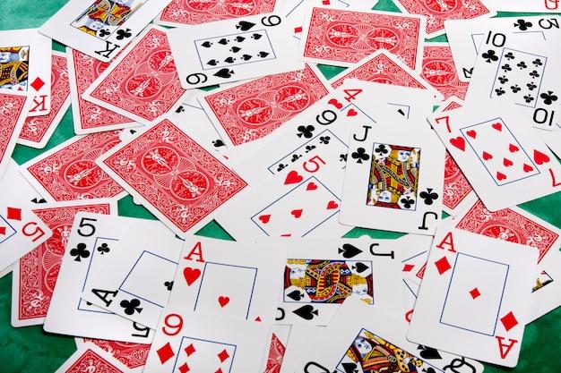 Bouquet de cartes