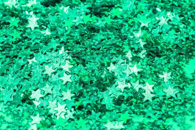 Bouquet de confettis émeraude