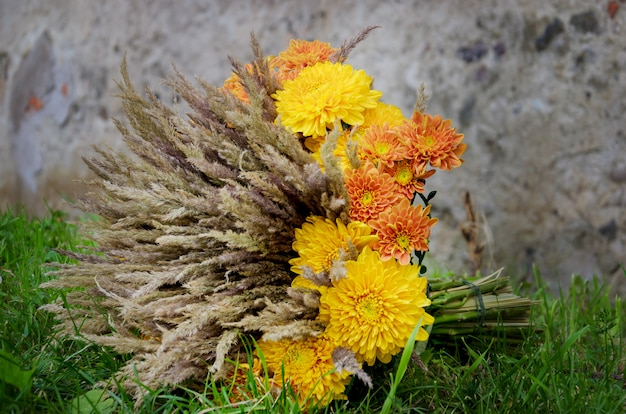 Bouquet design inhabituel