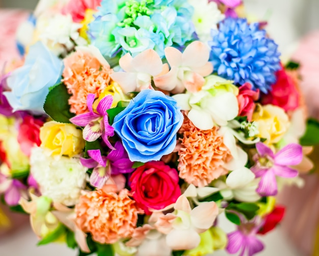 Bouquet de fleur rose bouchent