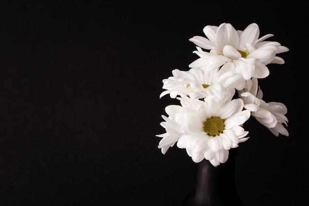 Bouquet de fleurs copie espace