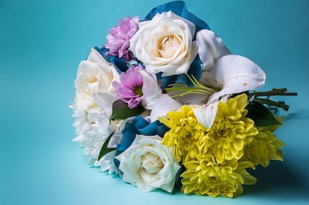 Bouquet de fleurs d'été multicolores.