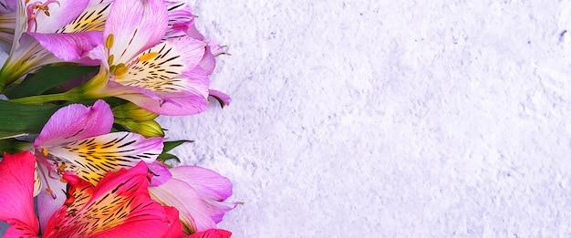 Bouquet de fleurs d'orchidées