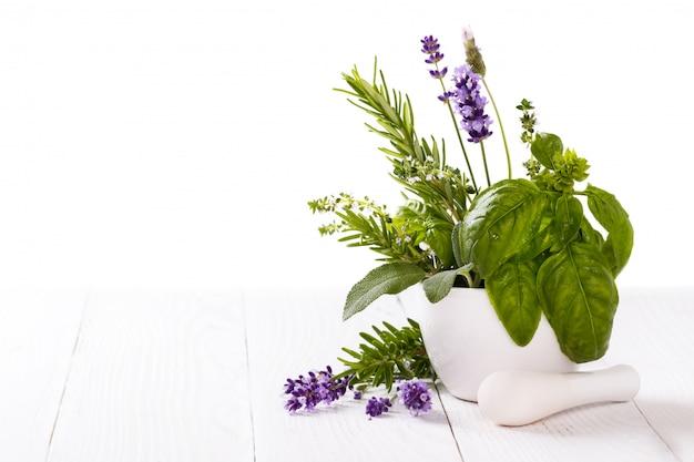 Bouquet d'herbes fraîches