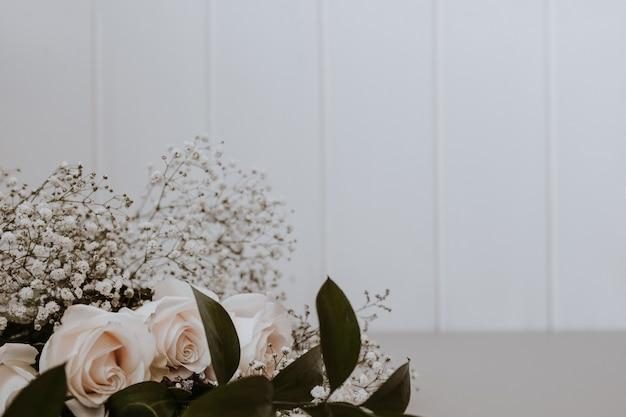 Bouquet de jolies roses
