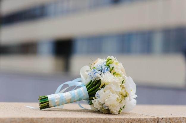 Bouquet de mariée doux