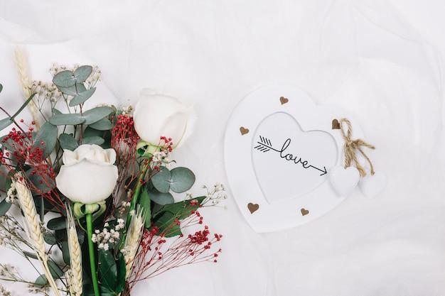 Bouquet de mariée de fleurs