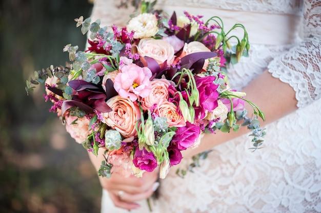 Bouquet de mariée pour la mariée