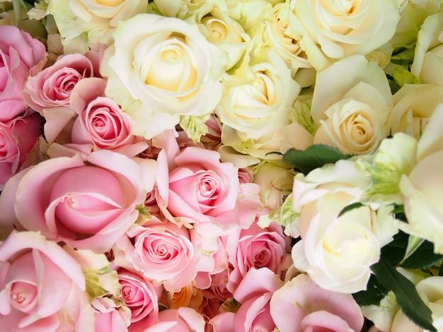 Bouquet de roses à la rose