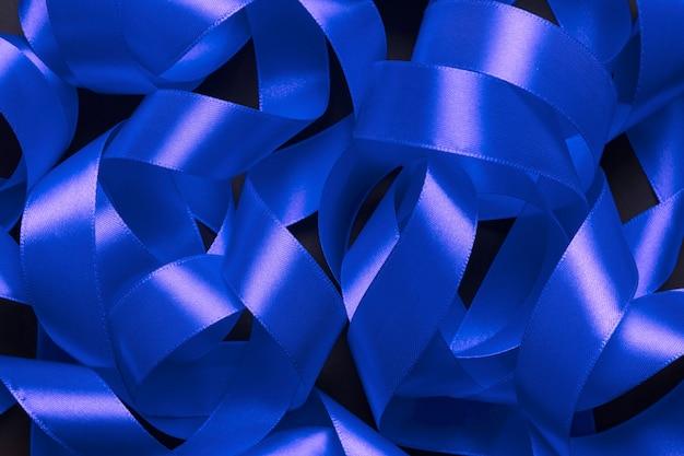 Bouquet de ruban bleu