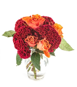 Bouquet en studio