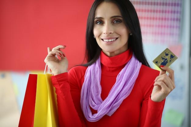 Bourreau de magasinage féminin