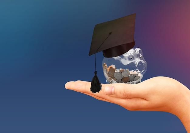 Bourse d'études étudiant icône investissement argent académique