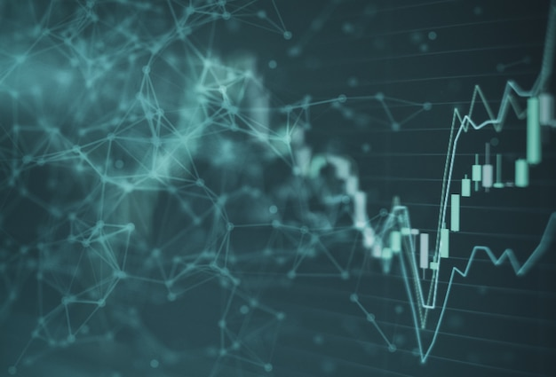 Bourse graphique graphique investissement trading bourse de valeurs