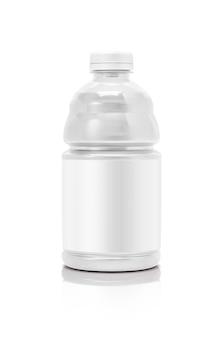 Bouteille de boisson d'emballage vide isolé