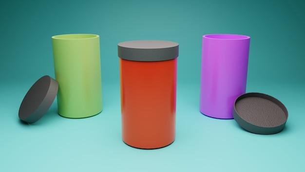 Bouteille d'eau en acier inoxydable style mug pour maquette et marquage