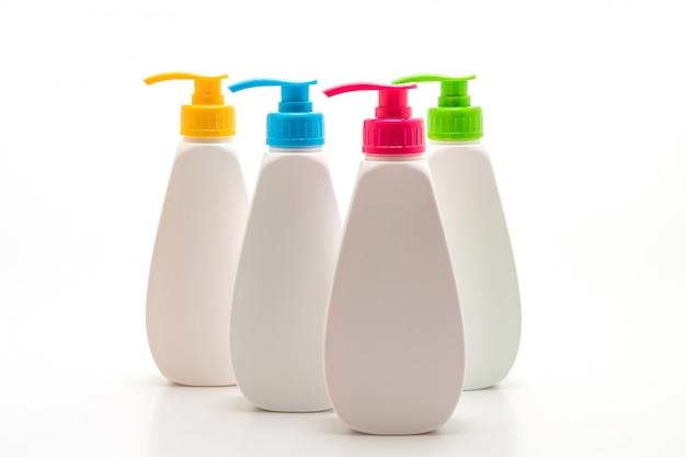 Bouteille en plastique de pompe de distributeur de savon liquide, de mousse ou de savon