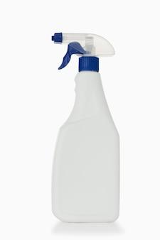 Bouteille de pulvérisation bleue